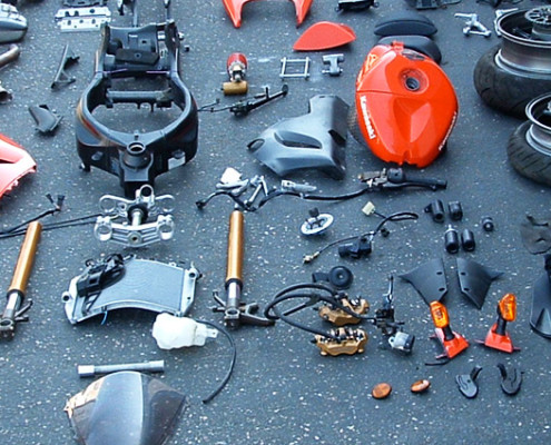 motorcycles parts auction